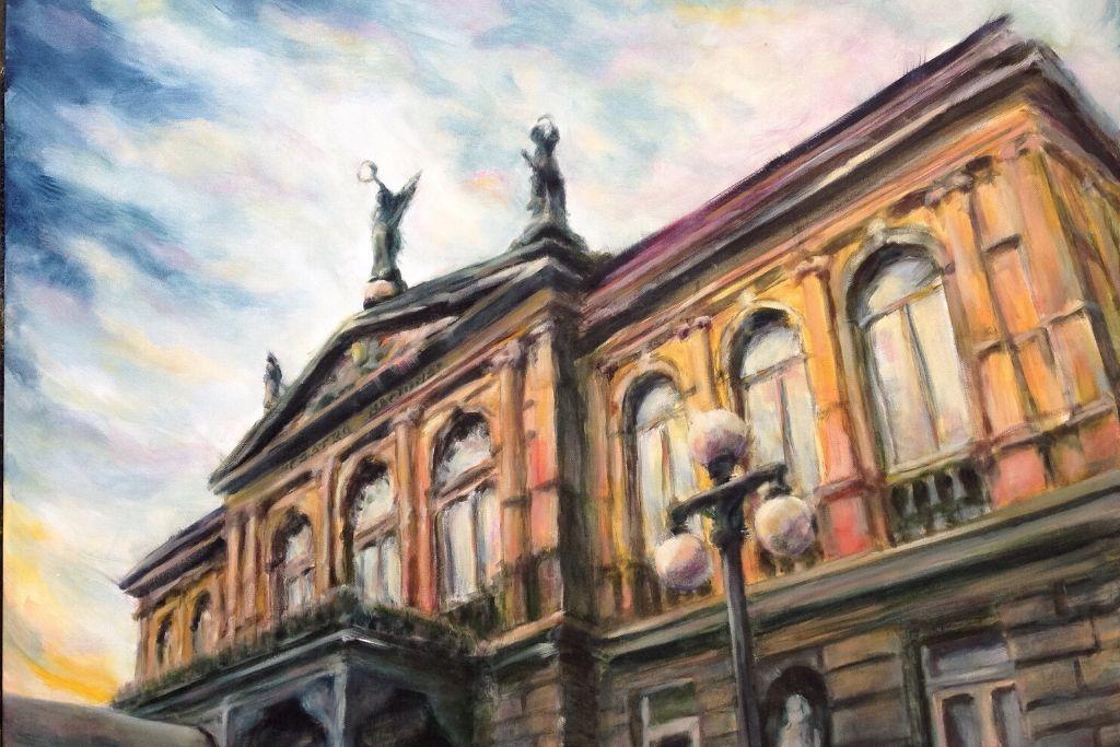 Teatro Nacional en San José, Costa Rica