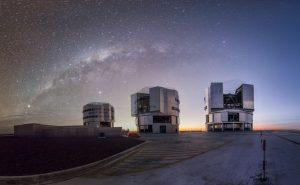 Centro astronómico fundado en el Cerro Paranal