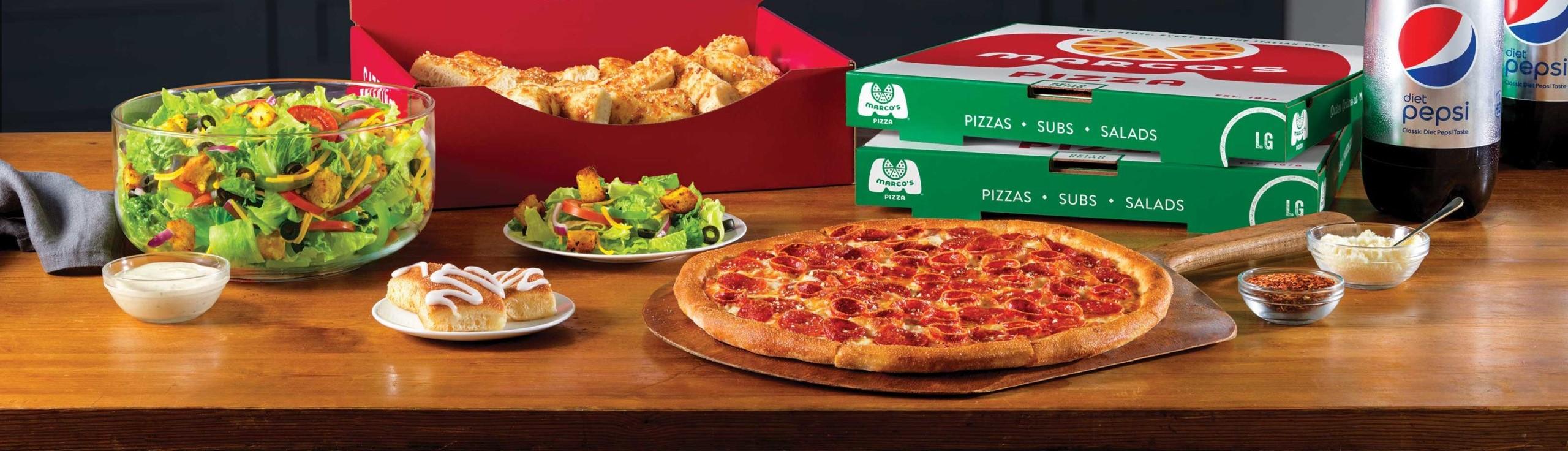Acompañamientos de pizza más comunes