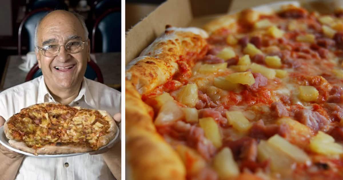 Sam Panopoulus, creador de la pizza hawaiana